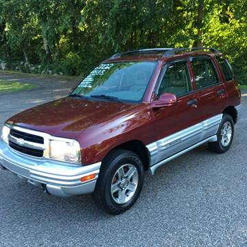 2002 Chevrolet Tracker for sale at Lou Rivers Used Cars in Palmer MA