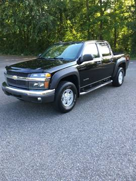 2005 Chevrolet Colorado for sale at Lou Rivers Used Cars in Palmer MA