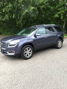 2014 GMC Acadia for sale at Lou Rivers Used Cars in Palmer MA