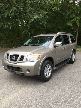 2008 Nissan Armada for sale at Lou Rivers Used Cars in Palmer MA