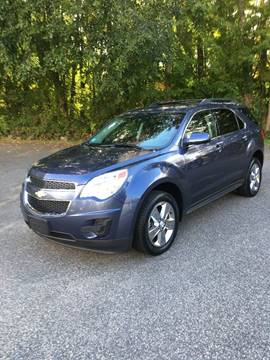 2013 Chevrolet Equinox for sale at Lou Rivers Used Cars in Palmer MA