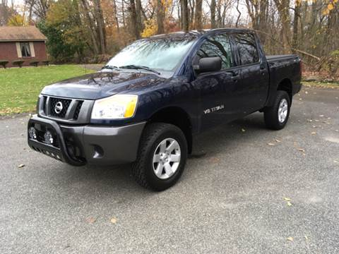 2008 Nissan Titan for sale at Lou Rivers Used Cars in Palmer MA