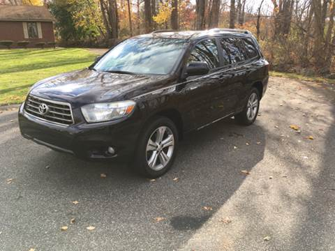 2008 Toyota Highlander for sale at Lou Rivers Used Cars in Palmer MA