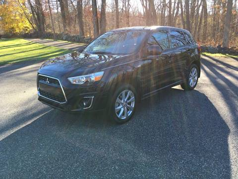 2015 Mitsubishi Outlander Sport for sale at Lou Rivers Used Cars in Palmer MA