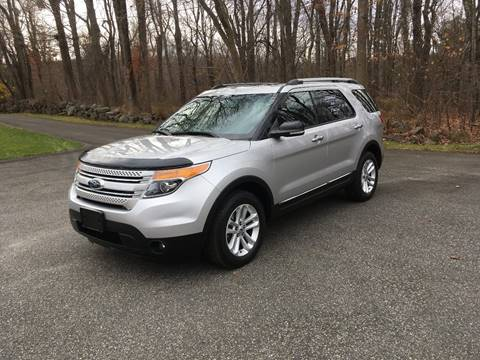 2013 Ford Explorer for sale at Lou Rivers Used Cars in Palmer MA