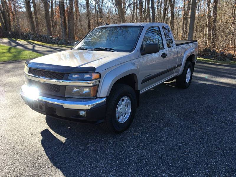 2004 Chevrolet Colorado 4dr Extended Cab Z71 Ls 4wd Sb In Palmer Ma
