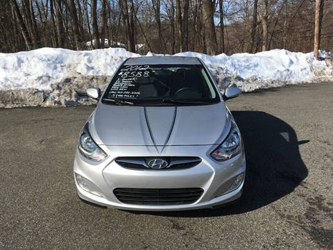2012 Hyundai Accent for sale at Lou Rivers Used Cars in Palmer MA