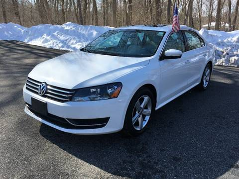 2013 Volkswagen Passat for sale at Lou Rivers Used Cars in Palmer MA