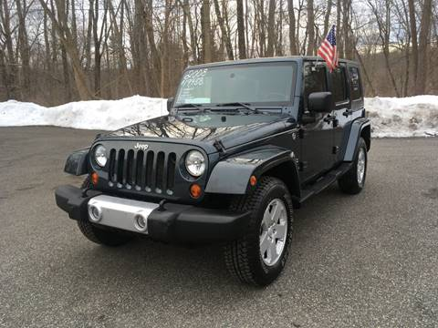 2008 Jeep Wrangler Unlimited for sale at Lou Rivers Used Cars in Palmer MA