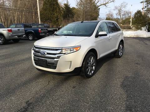 2013 Ford Edge for sale at Lou Rivers Used Cars in Palmer MA