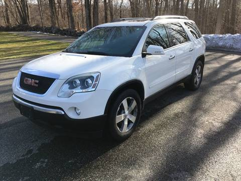 2011 GMC Acadia for sale at Lou Rivers Used Cars in Palmer MA