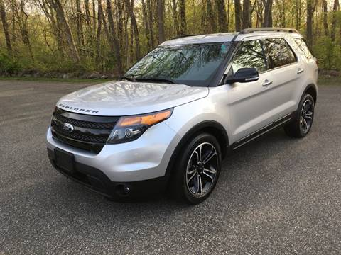 2014 Ford Explorer for sale at Lou Rivers Used Cars in Palmer MA