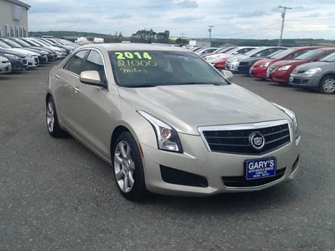 2014 Cadillac ATS for sale at Garys Sales & SVC in Caribou ME