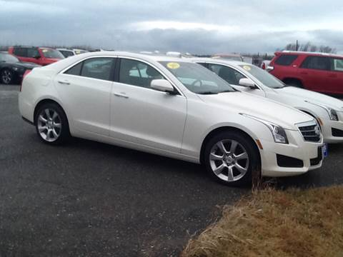 2013 Cadillac ATS for sale at Garys Sales & SVC in Caribou ME