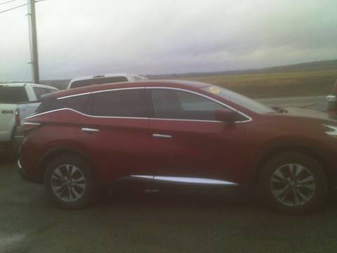 2016 Nissan Murano for sale at Garys Sales & SVC in Caribou ME
