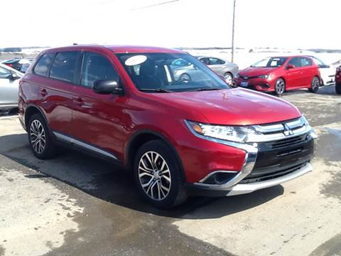 2017 Mitsubishi Outlander for sale at Garys Sales & SVC in Caribou ME