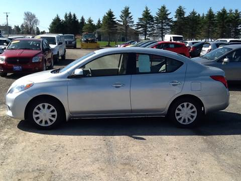 2012 Nissan Versa for sale at Garys Sales & SVC in Caribou ME