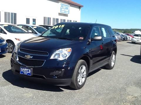 2015 Chevrolet Equinox for sale at Garys Sales & SVC in Caribou ME