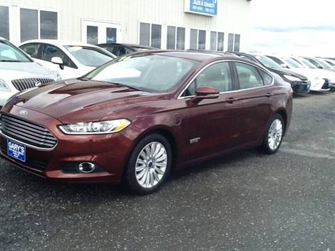 2016 Ford Fusion Energi for sale in Caribou, ME