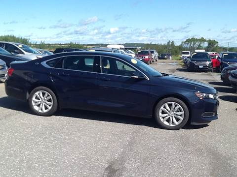 2017 Chevrolet Impala for sale in Caribou, ME