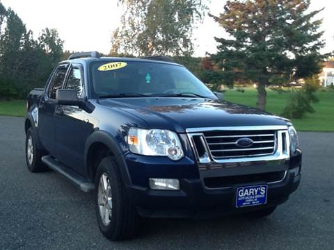 2007 Ford Explorer Sport Trac for sale at Garys Sales & SVC in Caribou ME