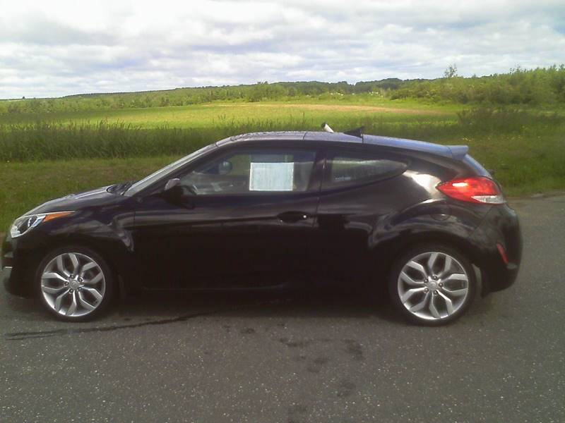 2012 Hyundai Veloster for sale at Garys Sales & SVC in Caribou ME