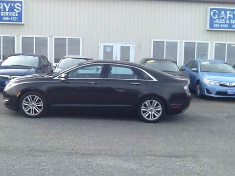 2014 Lincoln MKZ Hybrid for sale at Garys Sales & SVC in Caribou ME