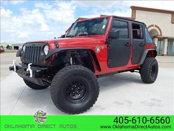 2008 Jeep Wrangler Unlimited for sale in Oklahoma City, OK