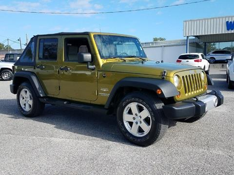 2008 Jeep Wrangler Unlimited for sale in Live Oak, FL