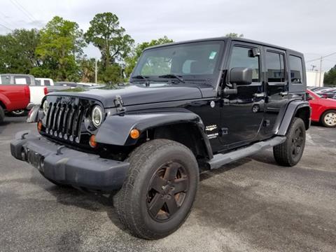 2011 Jeep Wrangler Unlimited for sale in Live Oak, FL