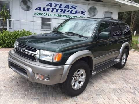 2002 Toyota 4Runner for sale in Jacksonville, FL