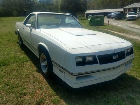 1984 Chevrolet El Camino for sale at Lanier Motor Company in Lexington NC