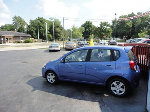 2009 Chevrolet Aveo for sale at Midwest Auto Credit in Goshen IN