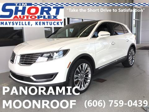 2016 Lincoln MKX for sale in Morehead, KY
