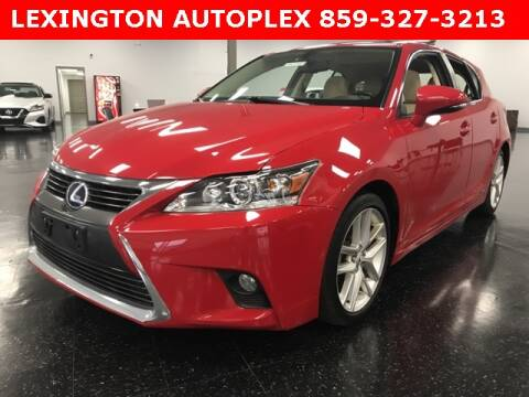 2016 Lexus CT 200h for sale in Morehead, KY