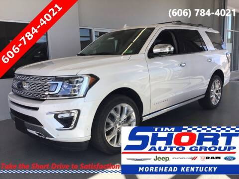 2019 Ford Expedition for sale at Tim Short Chrysler in Morehead KY