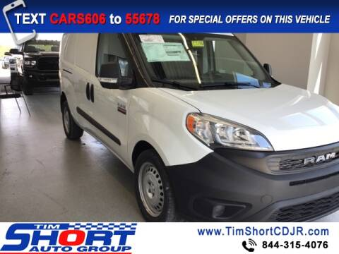 2020 RAM ProMaster City Cargo for sale at Tim Short Chrysler in Morehead KY