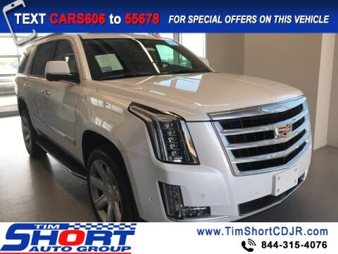 2020 Cadillac Escalade for sale at Tim Short Chrysler in Morehead KY