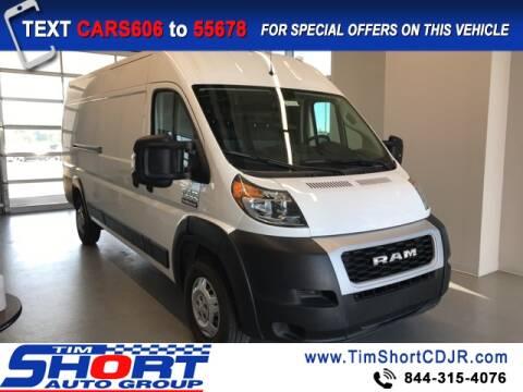 2020 RAM ProMaster Cargo for sale at Tim Short Chrysler in Morehead KY