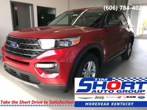 2020 Ford Explorer for sale at Tim Short Chrysler in Morehead KY