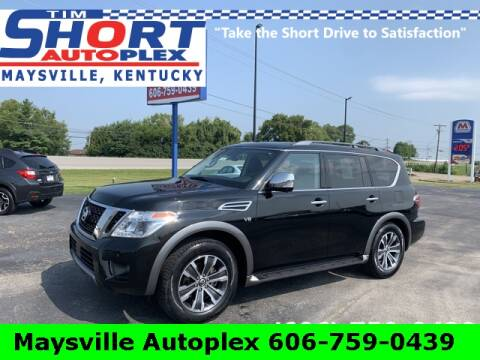 2019 Nissan Armada for sale at Tim Short Chrysler in Morehead KY