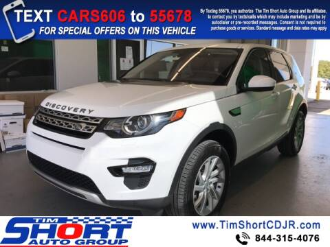 2019 Land Rover Discovery Sport for sale at Tim Short Chrysler in Morehead KY