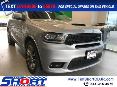 2019 Dodge Durango for sale at Tim Short Chrysler in Morehead KY