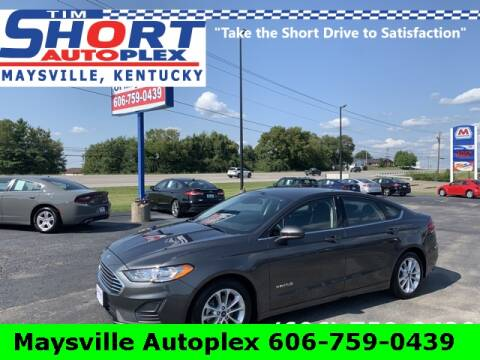 2019 Ford Fusion Hybrid for sale at Tim Short Chrysler in Morehead KY
