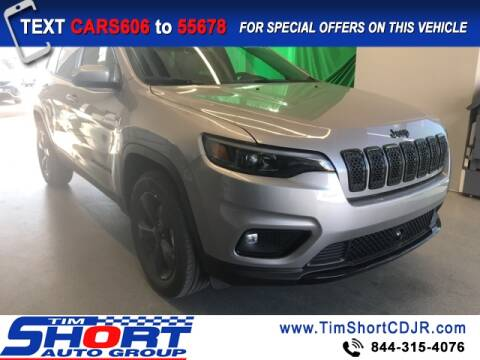2021 Jeep Cherokee for sale at Tim Short Chrysler in Morehead KY