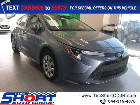 2020 Toyota Corolla for sale at Tim Short Chrysler in Morehead KY