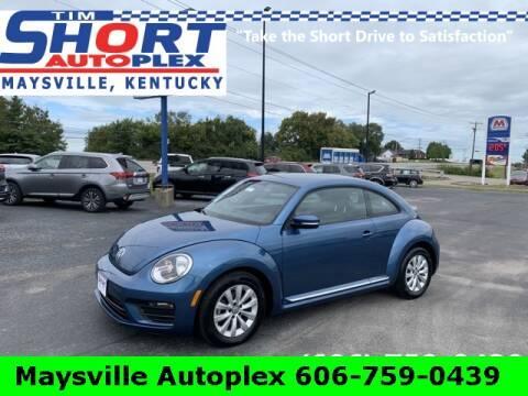 2019 Volkswagen Beetle for sale at Tim Short Chrysler in Morehead KY