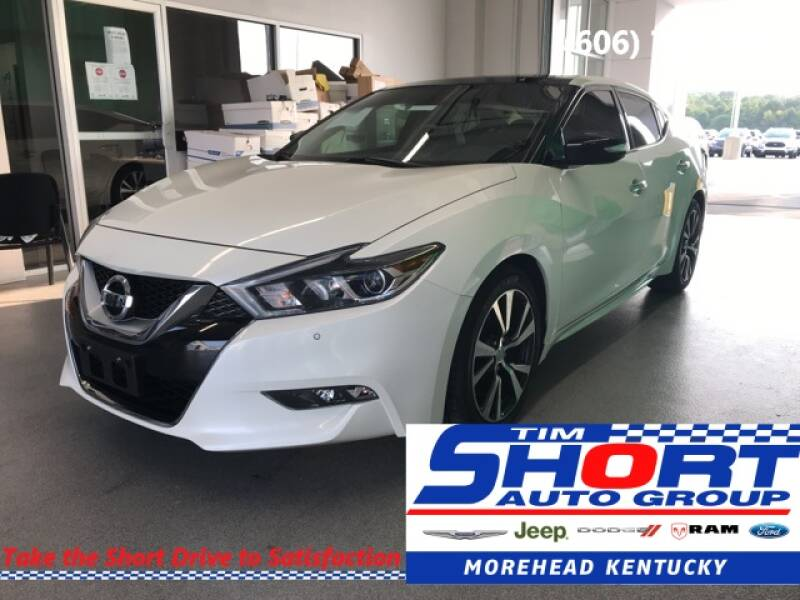 2017 Nissan Maxima for sale at Tim Short Chrysler in Morehead KY