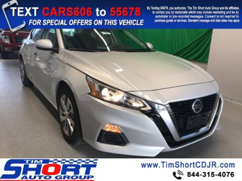 2020 Nissan Altima for sale at Tim Short Chrysler in Morehead KY