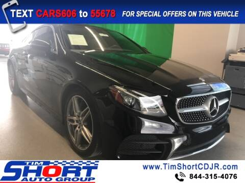 2018 Mercedes-Benz E-Class for sale at Tim Short Chrysler in Morehead KY